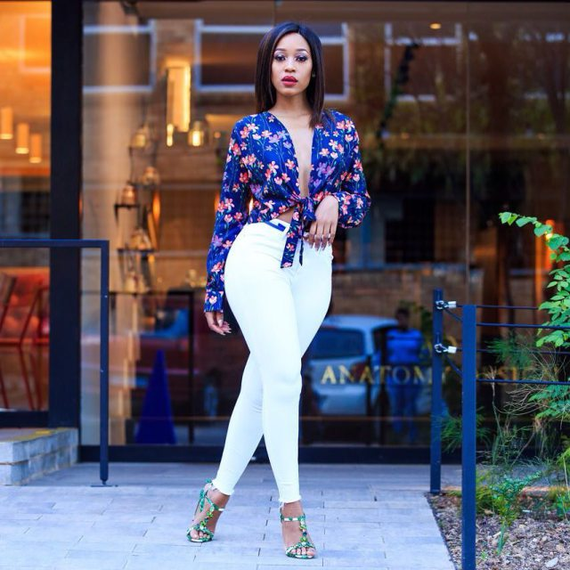 Mzansi Female Celebs Who Slay in Heels & Look Hot [ Pictures ]