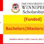 President Scholarship at University of Winnipeg in Canada 2021-2022