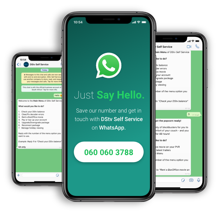 DSTv WhatsApp Number And Other Contact Details